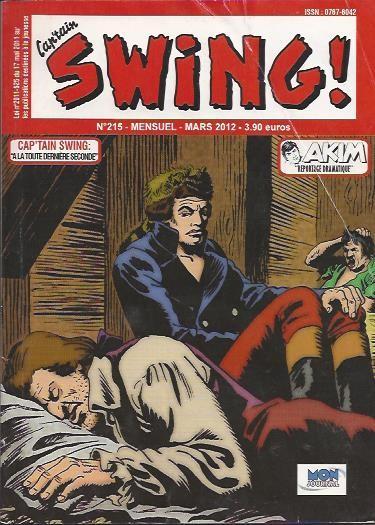 Couverture de Capt'ain Swing! (2e série - Mon Journal) -215- À la toute dernière seconde...