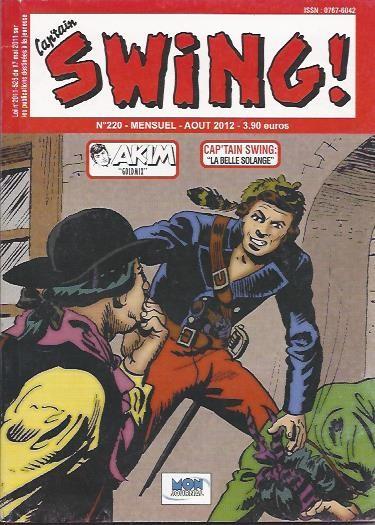 Couverture de Capt'ain Swing! (2e série - Mon Journal) -220- La belle Solange