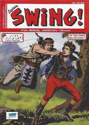 Couverture de Capt'ain Swing! (2e série - Mon Journal) -225- Qui a tué Ulysses ?