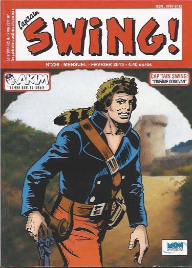 Couverture de Capt'ain Swing! (2e série - Mon Journal) -226- L'infâme Donovan