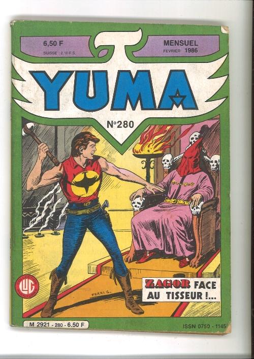 Couverture de Yuma (1re série) -280- Zagor face au tisseur
