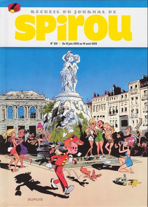 Couverture de (Recueil) Spirou (Album du journal) -331- Spirou album du journal