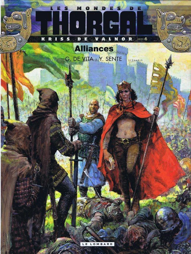 Couverture de Thorgal (Les mondes de) - Kriss de Valnor -4- Alliances