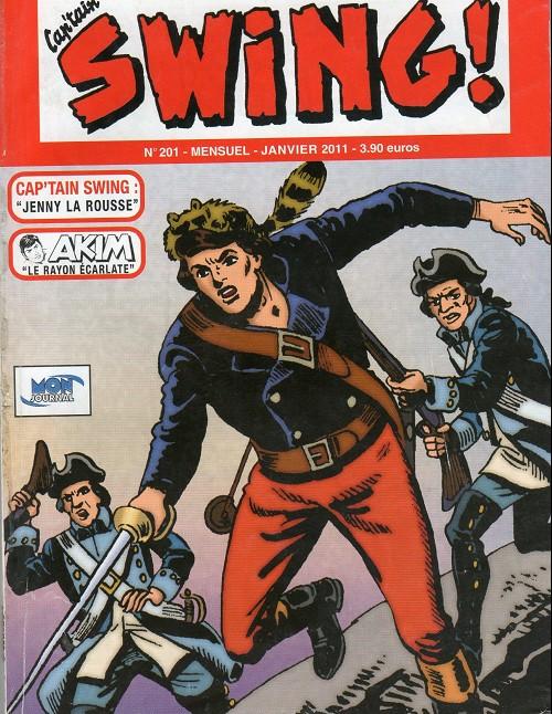 Couverture de Capt'ain Swing! (2e série - Mon Journal) -201- Jenny la rousse