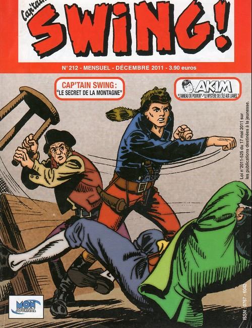 Couverture de Capt'ain Swing! (2e série - Mon Journal) -212- Le secret de la montagne