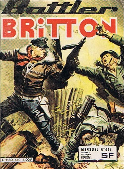 Couverture de Battler Britton -419- Le Bal des momies