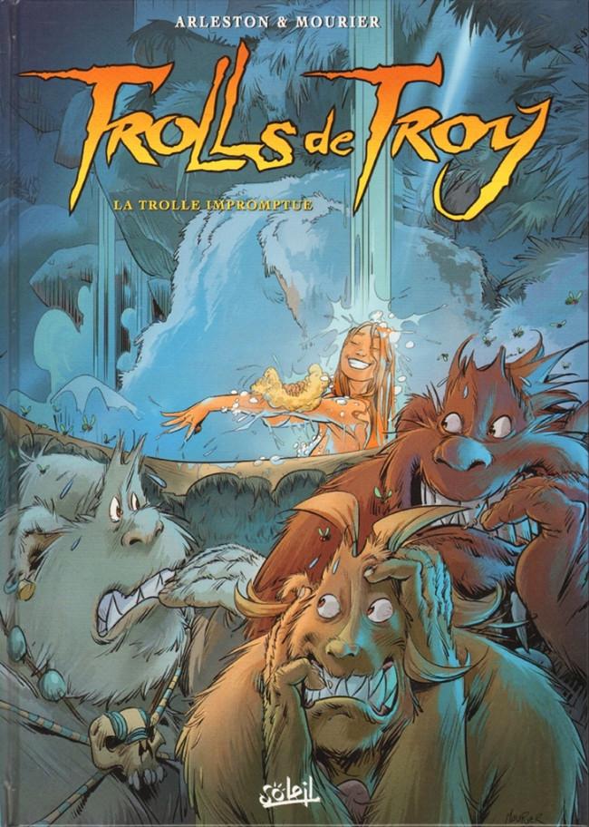 Couverture de Trolls de Troy -17- La Trolle impromptue