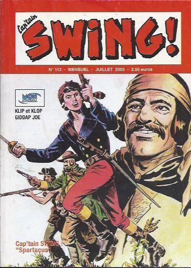 Couverture de Capt'ain Swing! (2e série - Mon Journal) -112- Spartacus