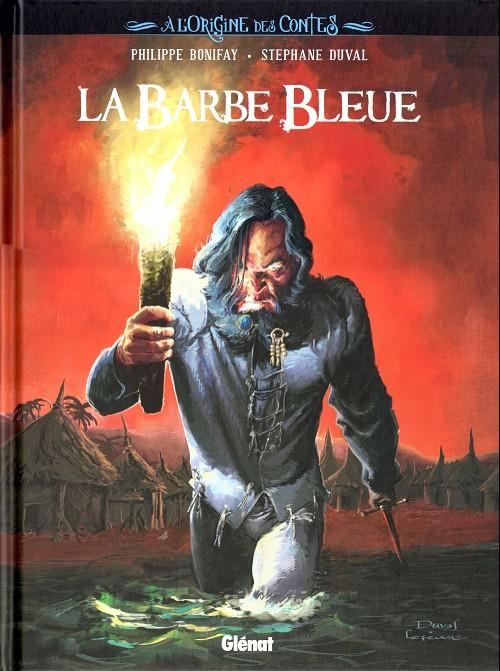 Couverture de À l'Origine des Contes -1- La Barbe Bleue