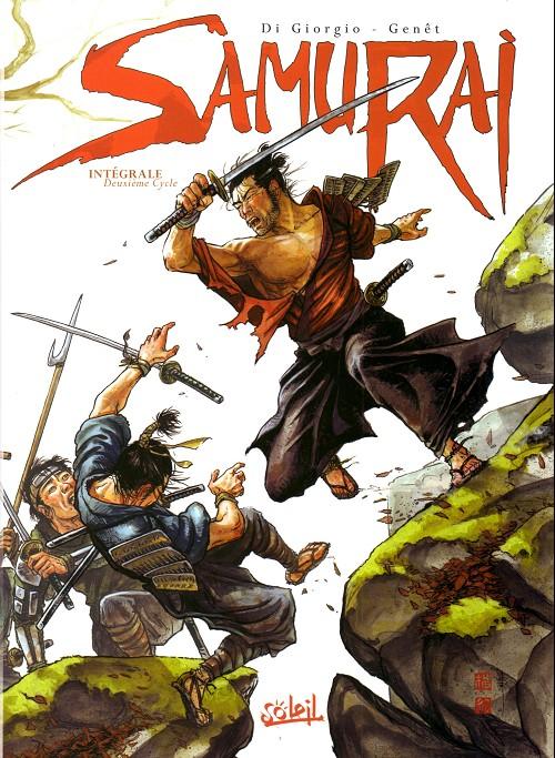 Couverture de Samurai -INT2- Intégrale Deuxième cycle