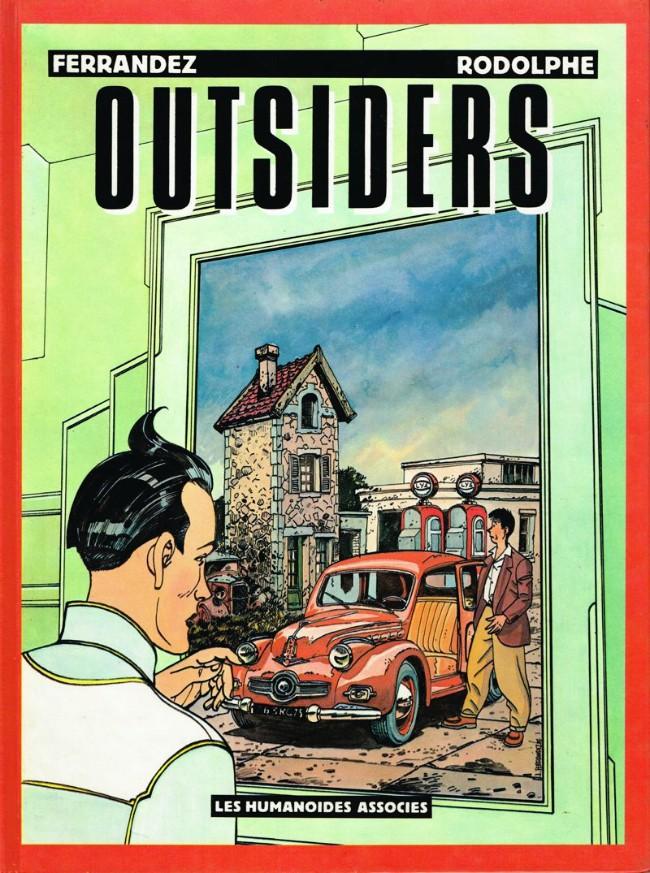 Couverture de Outsiders (Ferrandez) - Outsiders