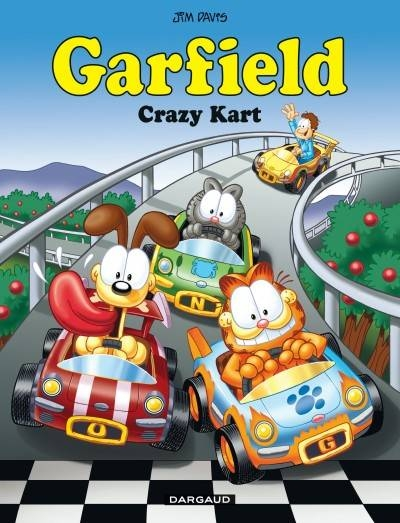 Couverture de Garfield -57- Crazy Kart