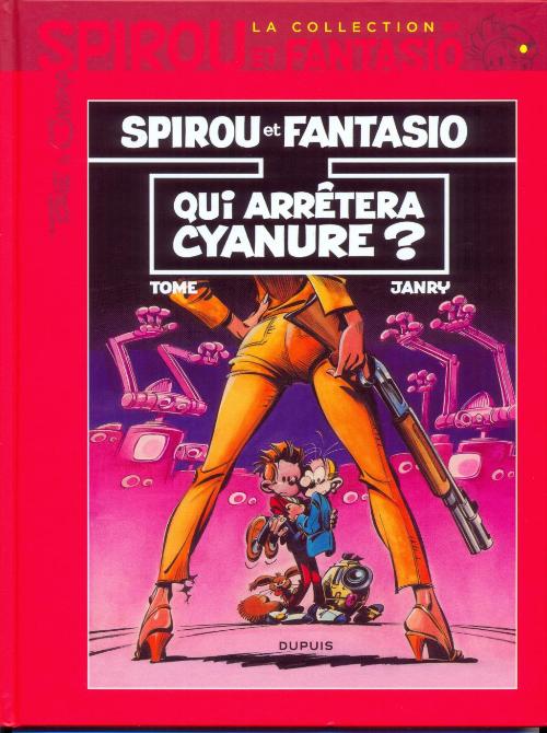 Couverture de Spirou et Fantasio - La collection -37- Qui arrêtera Cyanure ?