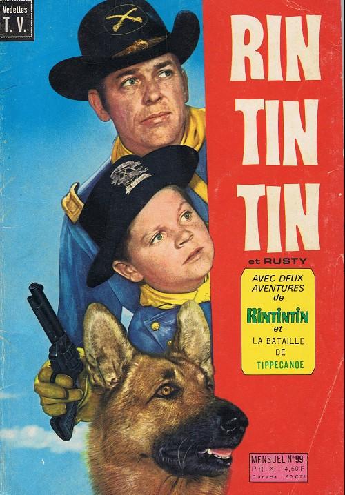 Couverture de Rin Tin Tin & Rusty (2e série) -99- Le secret des kwimper