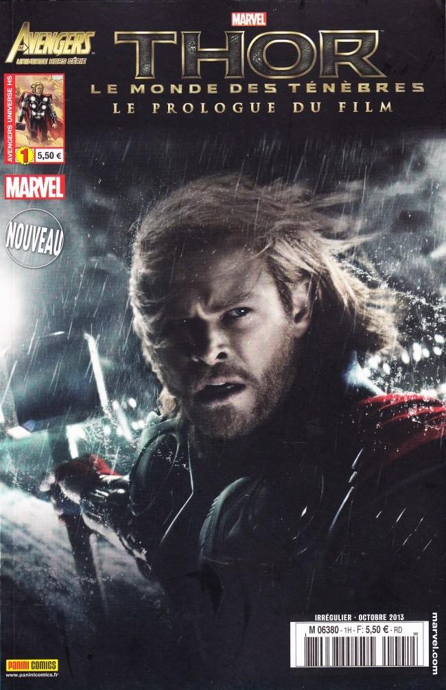 Couverture de Avengers Universe (1re série - 2013) -HS1- Thor - Le Monde des ténèbres - Le Prologue du film