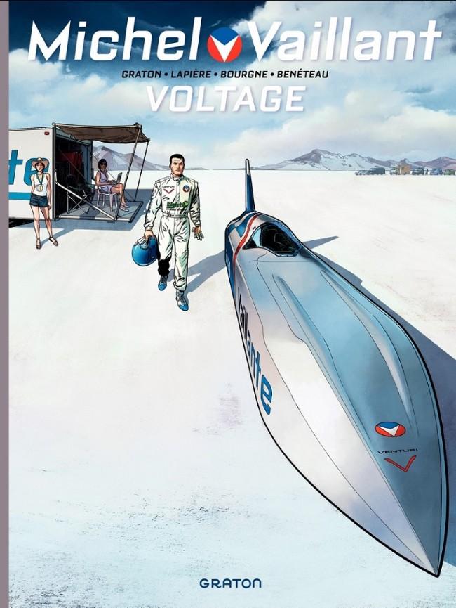 Couverture de Michel Vaillant - Nouvelle saison -2- Voltage