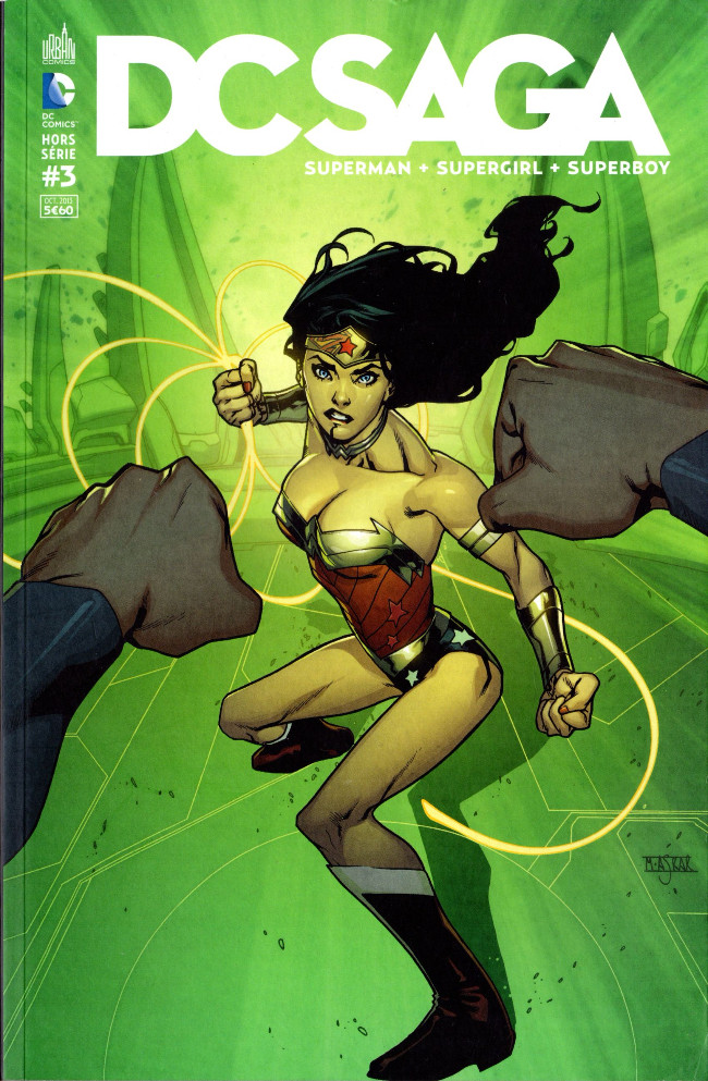 Couverture de DC Saga -HS03- H'El On Earth (3/3)