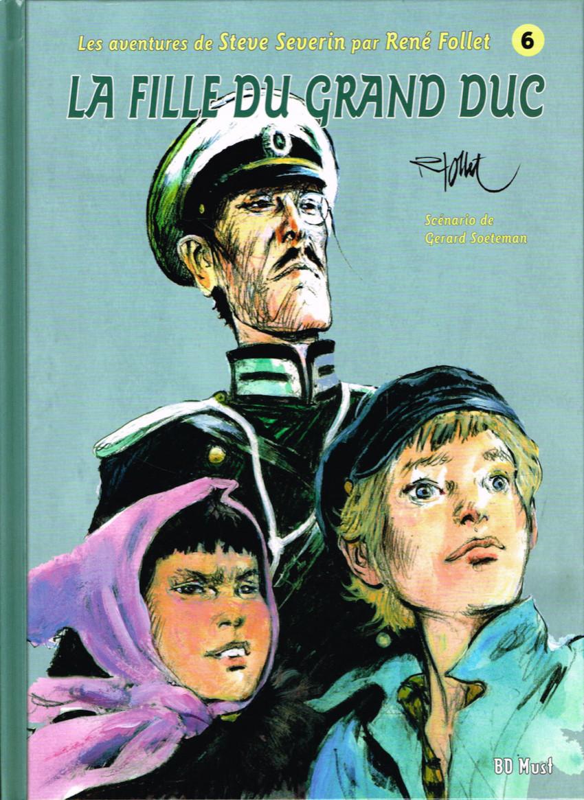 Les aventures de Steve Severin - les 9 tomes