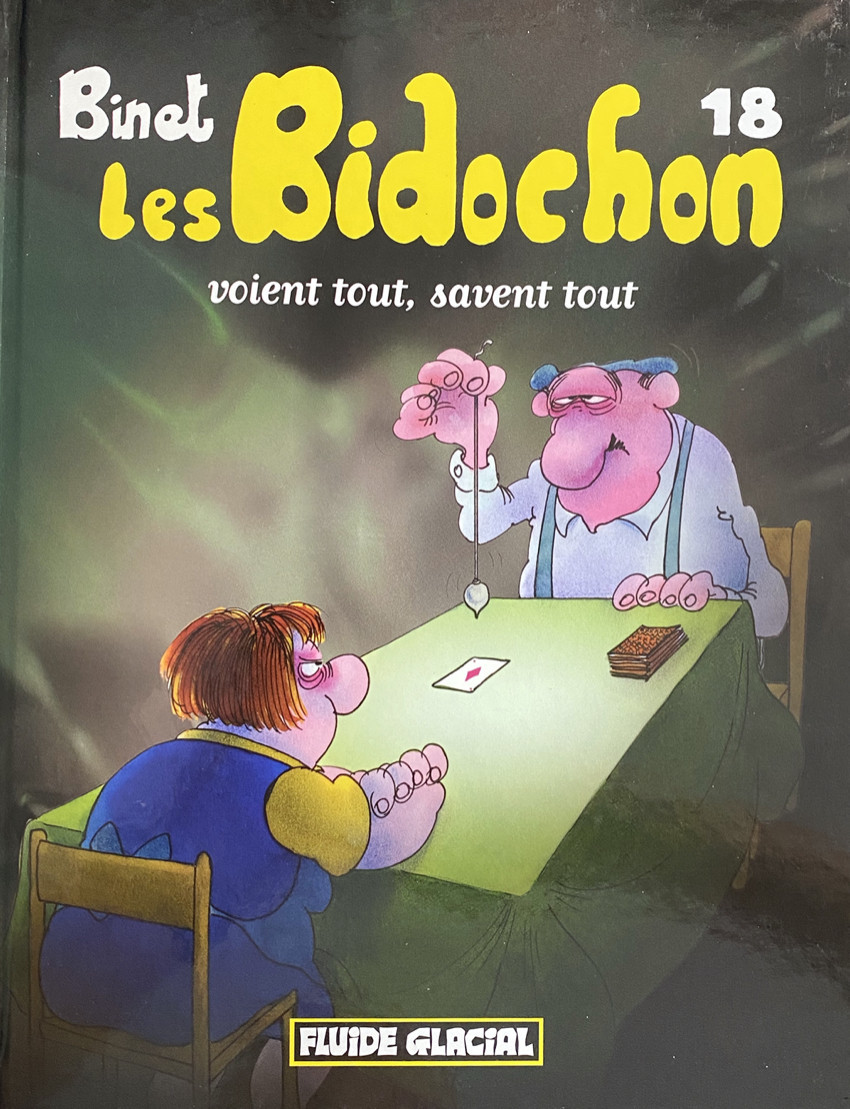 Couverture de Les bidochon -18- Les Bidochon voient tout, savent tout