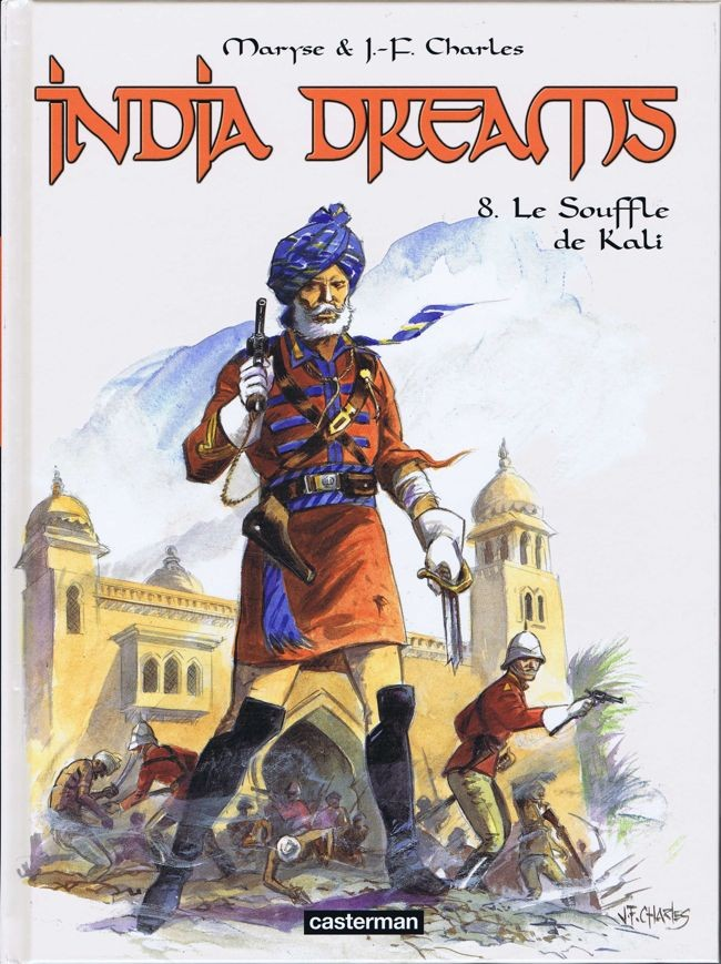 Couverture de India dreams -8- Le Souffle de Kali