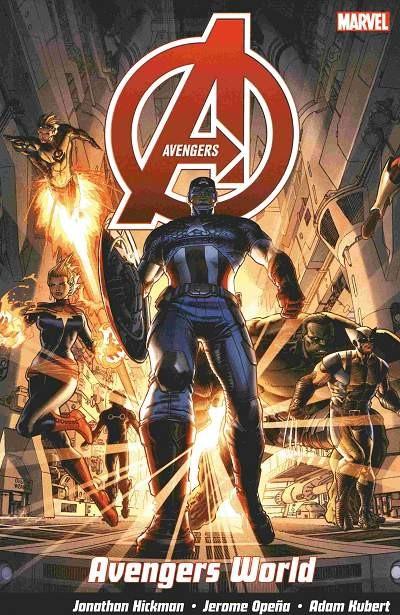 Couverture de Avengers Vol.5 (Marvel comics - 2013) -INT01- Avengers world