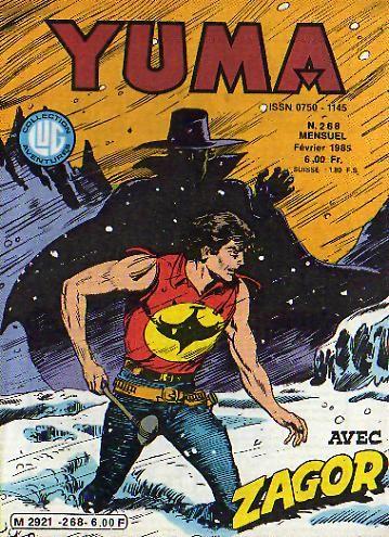 Couverture de Yuma (1re série) -268- Chasse à l'homme