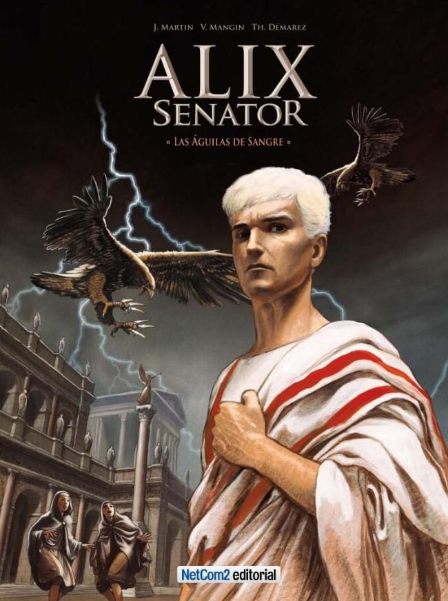 Couverture de Alix Senator (en espagnol) -1- Las Águilas de Sangre