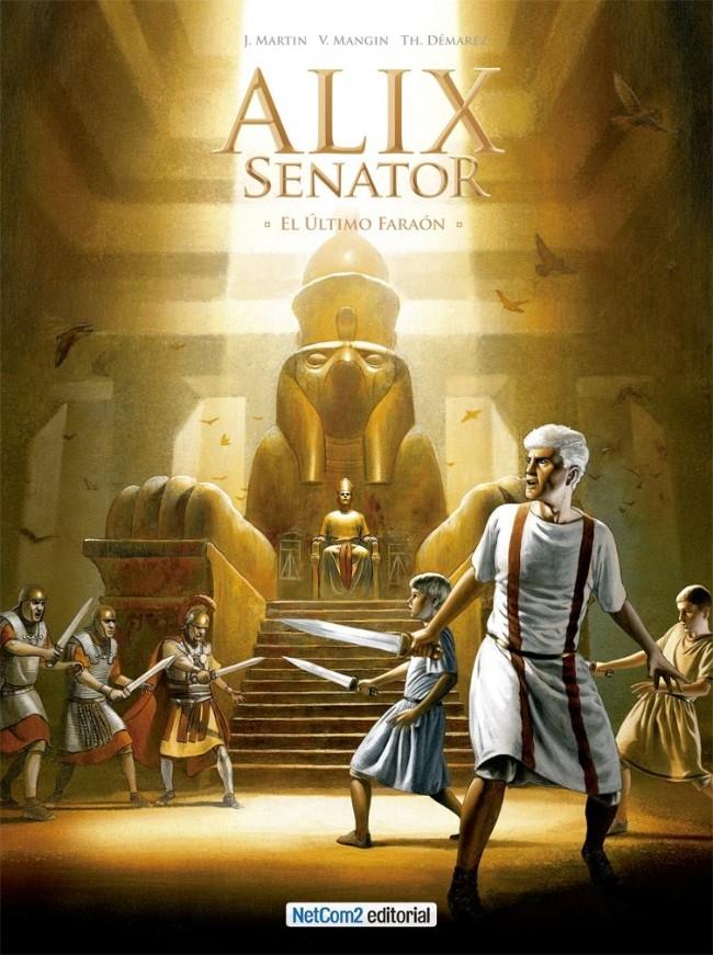 Couverture de Alix Senator (en espagnol) -2- El Último Faraón
