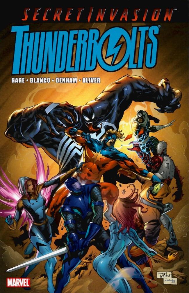 Couverture de Thunderbolts Vol.1 (Marvel Comics - 1997) -INT03- Secret Invasion