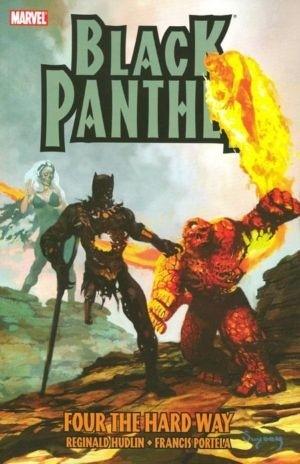 Couverture de Black Panther Vol.4 (Marvel - 2005) -INT05- Four the Hard Way