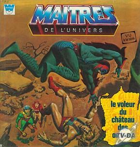 Couverture de Maîtres de l'univers (Whitman-France) -1- Le voleur du château des ombres