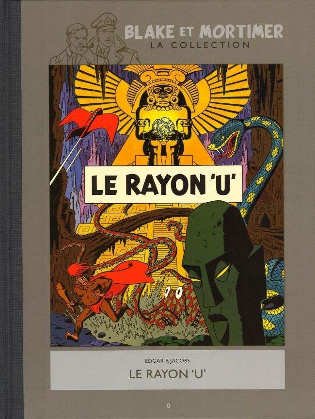 Couverture de Blake et Mortimer - La collection (Hachette) -0- Le rayon