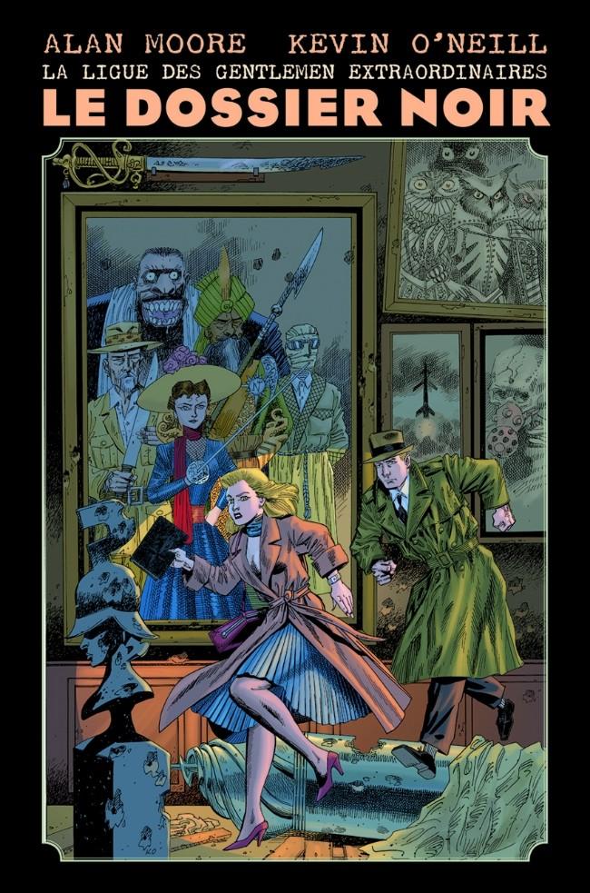 Couverture de La ligue des Gentlemen Extraordinaires -53- Le Dossier Noir