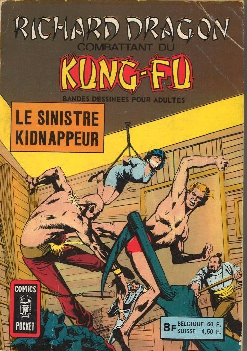 Couverture de Richard Dragon - Combattant du Kung-Fu (Arédit) -Rec01- Album N°3603 (n°1 et n°2)