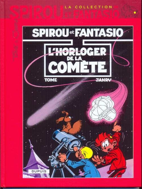 Couverture de Spirou et Fantasio - La collection (Cobra) -38- L'horloger de la comète