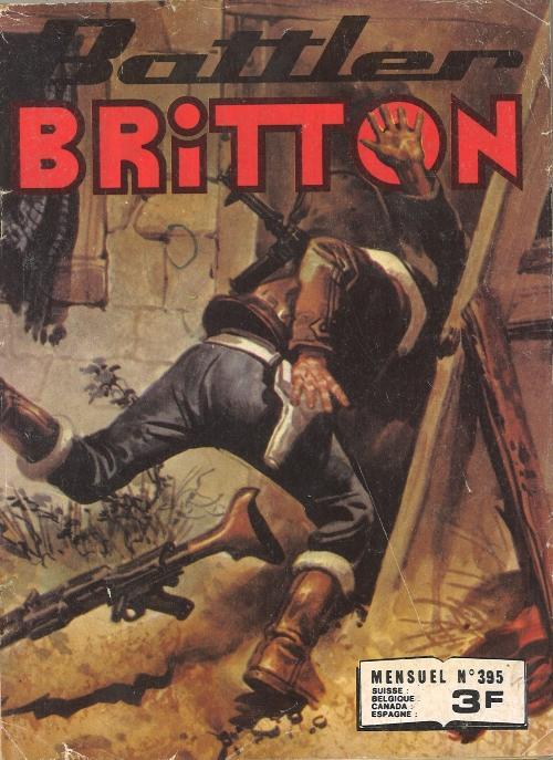 Couverture de Battler Britton -395- Les novices
