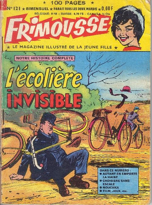 Couverture de Frimousse et Frimousse-Capucine -121- L'écolière invisible