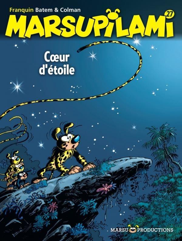 Couverture de Marsupilami -27- Cœur d'étoile