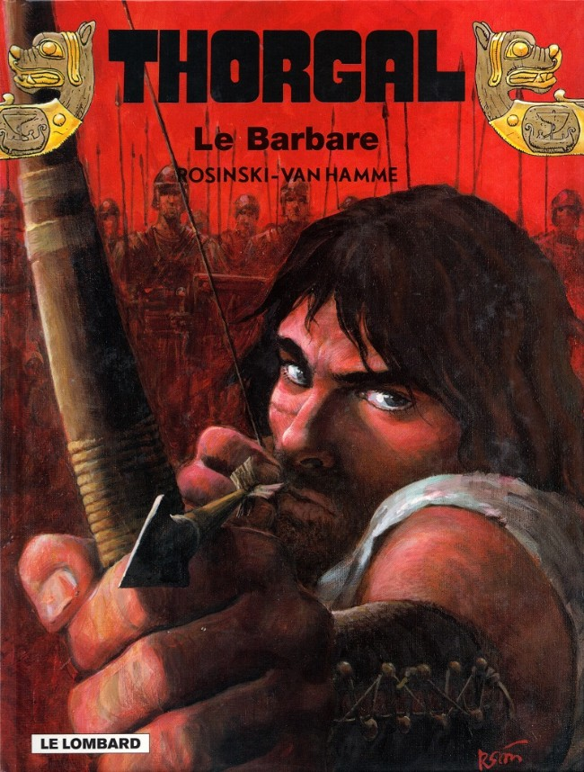 Couverture de Thorgal -27- Le Barbare