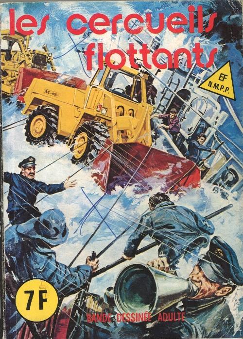 Couverture de Histoires noires (Elvifrance) -31- Les cercueils flottants