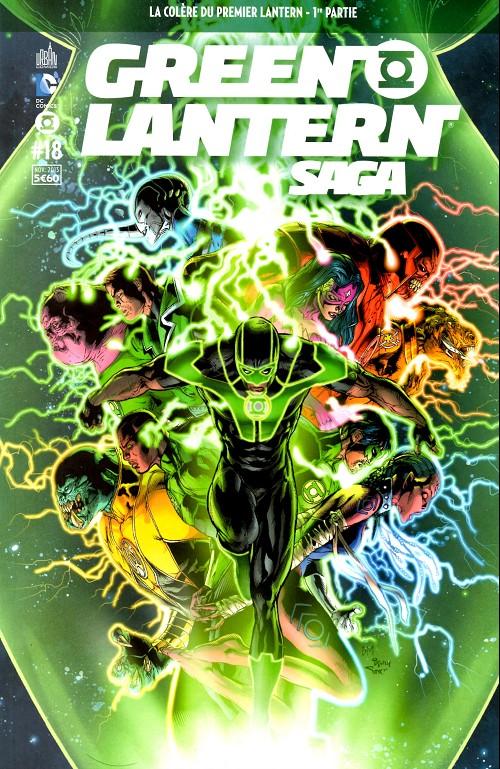 Couverture de Green Lantern Saga -18- La colère du premier Lantern - 1re partie