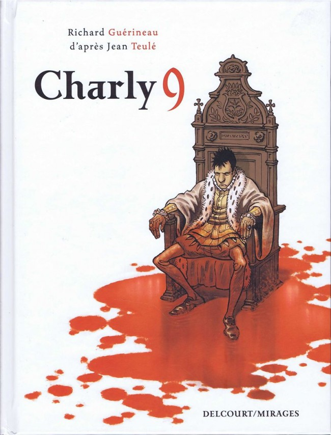 bande dessinee charly 9