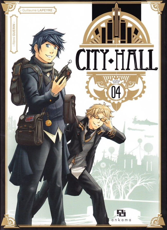 Couverture de City Hall -4- Tome 4