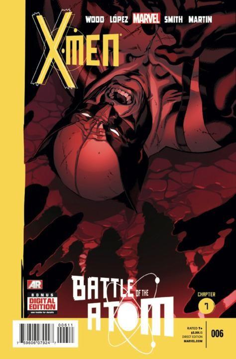 Couverture de X-Men Vol.4 (Marvel comics - 2013) -6- Battle of the Atom - Chapter 7