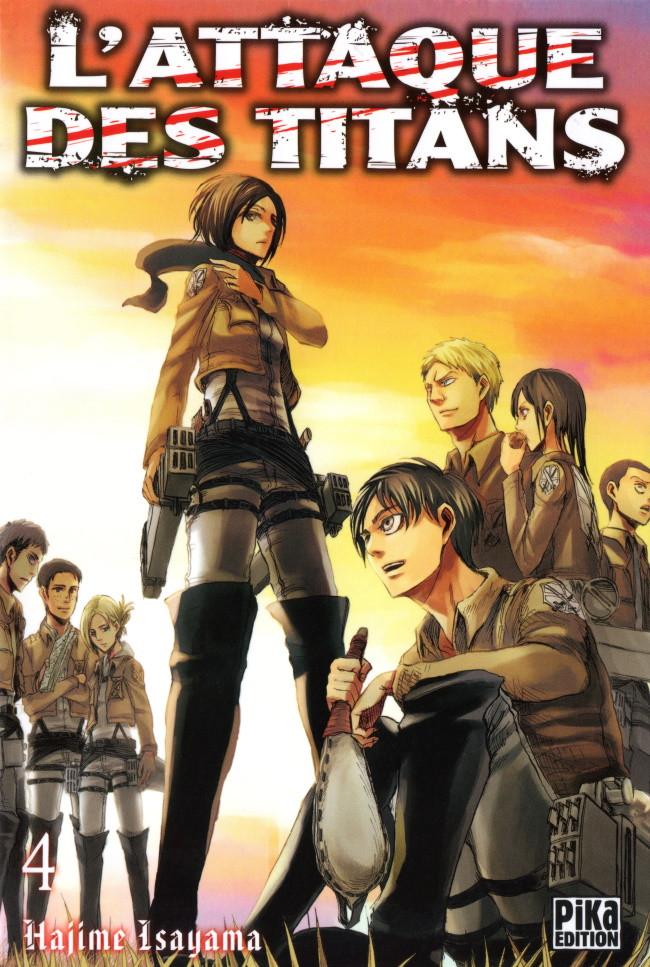 Couverture de L'attaque des Titans -4- Tome 4