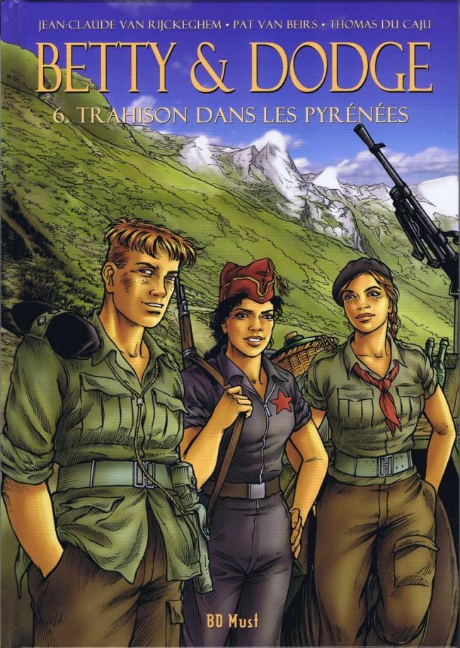 Couverture de Betty & Dodge -6TL- Trahison dans les Pyrénées