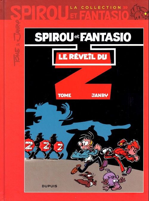 Couverture de Spirou et Fantasio - La collection (Cobra) -39- Le réveil du Z