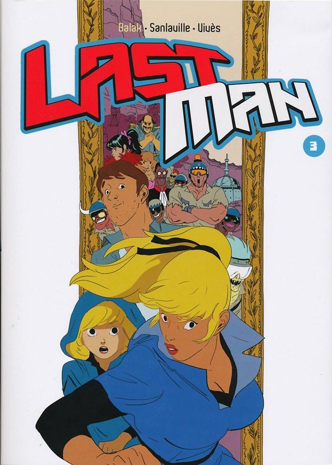 Couverture de LastMan -3- Tome 3