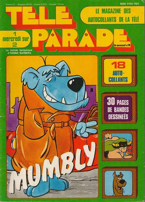 Couverture de Télé parade -18- Mumbly