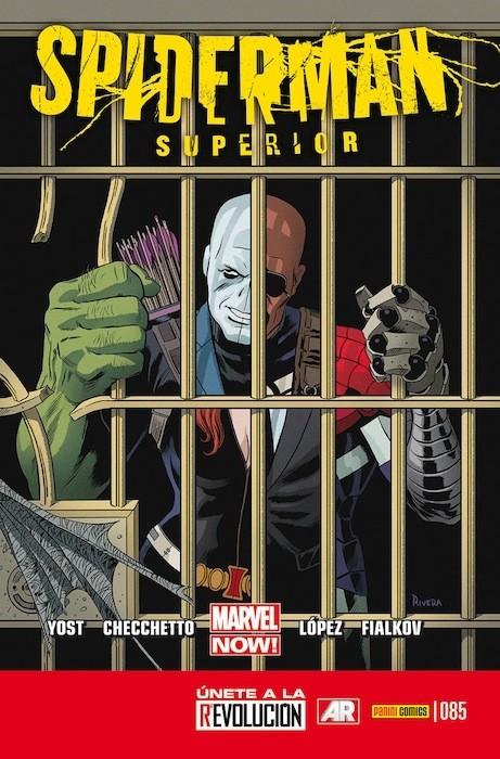 Couverture de Asombroso Spiderman -85- Operación Camaleón